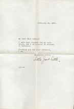 LITTLE JACK LITTLE Autograph letter and Exhibit card - $15.83