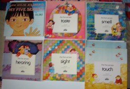 Lot Of 8 Soft Cover Books Exploring The Five Senses Picture Books Ages 3... - $14.84