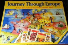 Journey Through Europe 1982 Ravensburger  Board Game - Complete - $20.00