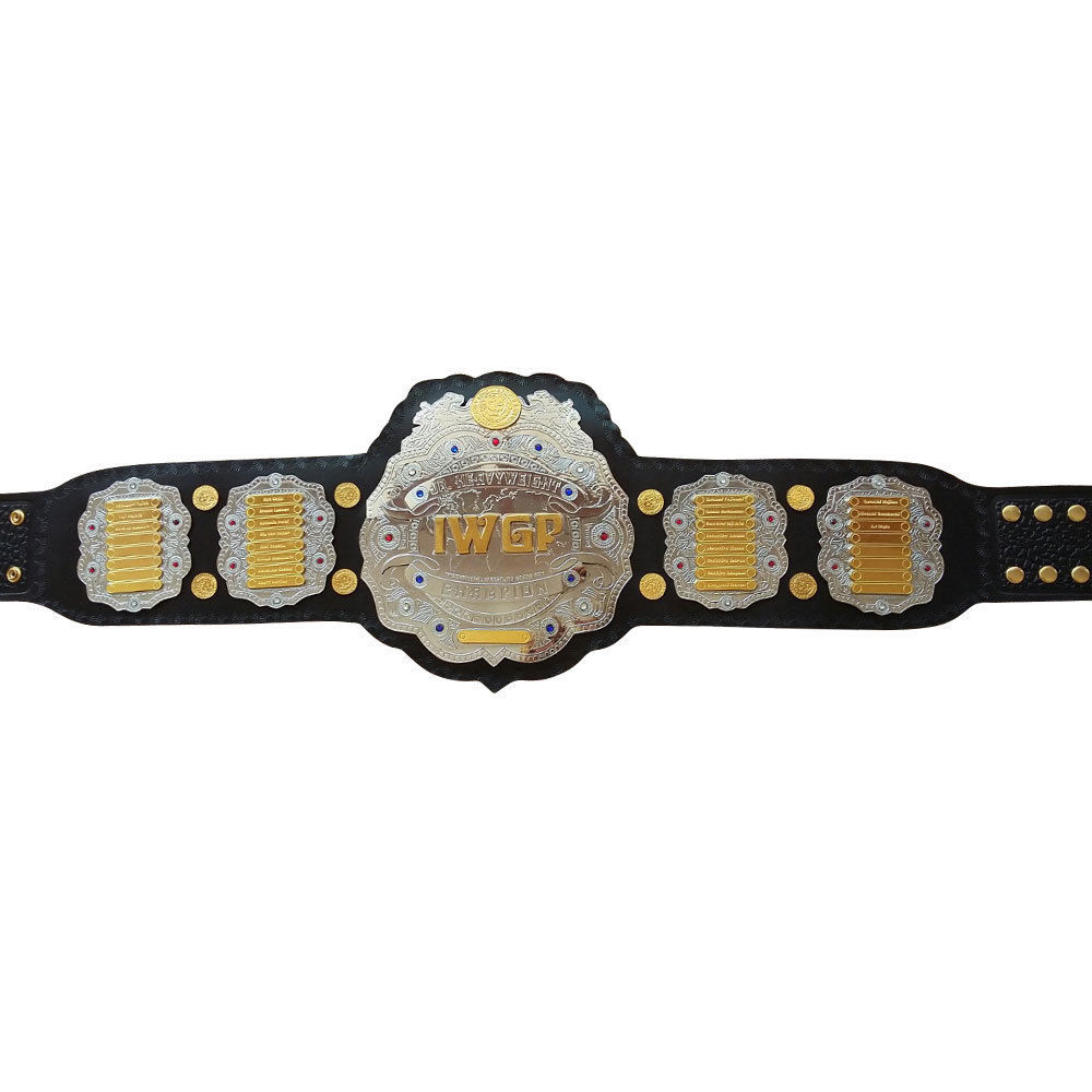 iwgp jr heavy weight championship belt.adult size belt