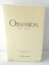 Obsession For Men Calvin Klein EDT Spray 4 Oz Sealed Box - $44.54