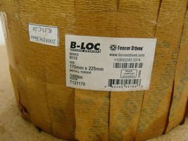 Fenner Drives - B-Loc B112 170MM, Keyless Bushing # T121160 - $700.00