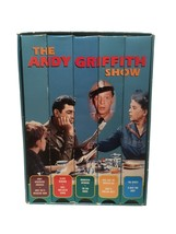 An item in the DVDs & Movies category: The Andy Griffith Show 5 Tape VHS Set 11188 1996 Black & White - Works