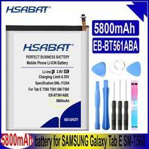 Hsabat EB-BT561ABE 5800mAh Battery For Samsung Galaxy Tab E T560 T561 SM-T560 Sm - $25.38