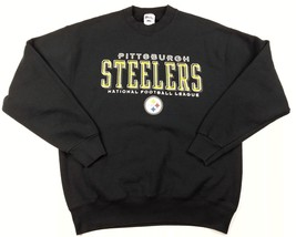 Pittsburgh Steelers Pro Player Mens Sweatshirt XL X Large NFL Football V... - $32.46