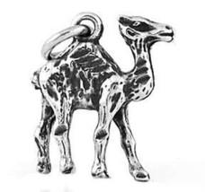 STERLING SILVER ARABIC CAMEL CHARM (3d Charm) - $9.49