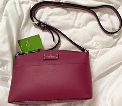 TEST Kate Spade Millie Grove Street rioja Leather handbag + 25% off next... - £206.63 GBP