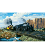 """Puzzle - Union Pacific """"Beauty & The Beast"""" Big Boy / Challenger - 1000 ... - $24.74"""