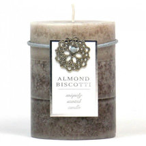 Almond Biscotti Pillar Candles  - $12.99+