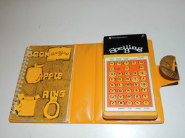 Vintage Texas Instruments Spelling B Bee Handheld Calculator Game 1978 W... - $14.34