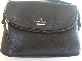 KATE SPADE NEW YORK Jackson Street Harlyn Cross-Body Bag - Black - £69.03 GBP