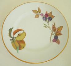 Royal Worcester Evesham Bread & Butter Plate - $15.83