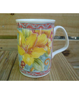 Royal Doulton Expressions FULL BLOOM Tea Cup Coffee Mug Fine Bone China ... - $13.50
