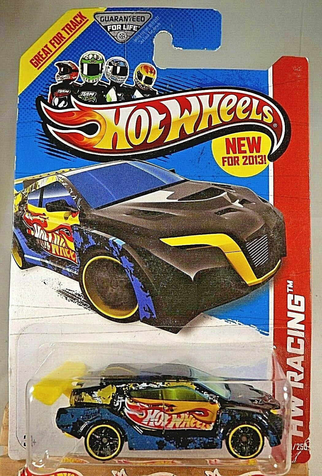Primary image for 2013 Hot Wheels #109 HW Racing-HW Race Team LOOP COUPE Black w/Black Pr5 Spoke