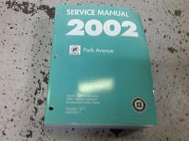2002 Gm Buick Park Avenue Service Repair Workshop Shop Manual Volume 1 Only - $49.45