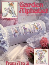 Garden Alphabet From A to Z NEW Cross Stitch PATTERN Leaflet 28 pages - $3.57