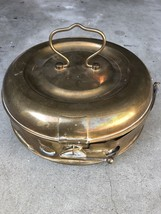 Vintage Antique Brass Hand Foot  Bed Warmer Incense Coal  L. Dufaux Mark... - $45.00