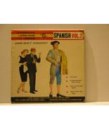 SPANISH: VOL. 2 - CAMBRIDGE LANGUAGE SERIES LP - FREE SHIPPING!! - $11.30
