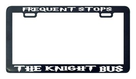 Frequent stops bus the knight Harry bus license plate frame holder Harry - $5.99