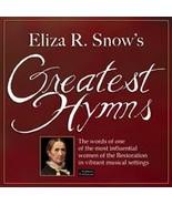 Eliza R. Snow's Greatest Hymns - $17.99