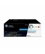 HP 410A | CF410A, CF411A, CF412A, CF413A | 4 Toner Cartridges | Black, C... - $736.00