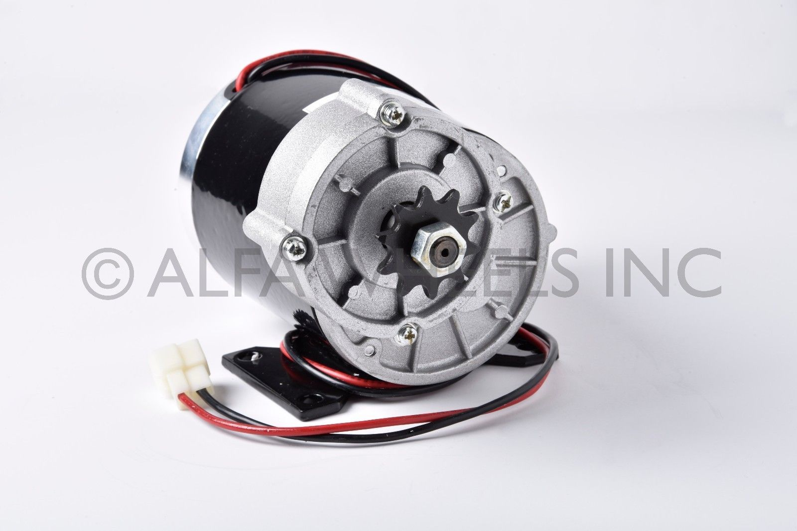 450 watt 36 volt electric motor f diy trike gokart scooter for Electric motor with gear reduction