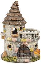 DARICE 30005338 Resin Castle House, Multicolor - $32.65