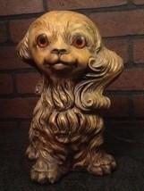 Ceramic Dog Lamp - Too Cute - Mid-Century - Vintage - $89.85
