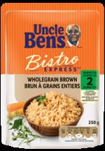 Uncle Ben's Bistro Express Whole Grain Brown Rice 12 x 250g  - $79.99