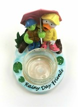 Yankee Candle Rainy Day Turtle Matching Tea Light Holder - $16.44