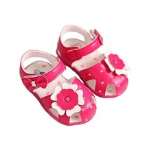 Soft Bottom 0-1-2 Years Old Baby Toddler Shoes Girls Summer Sandals