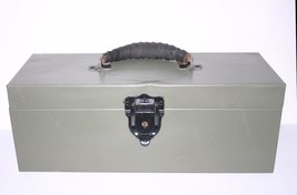 """Vintage Metal """"Kennedy Kits"""" Fishing Tackle Box or toolbox with all inserts - $49.49"""