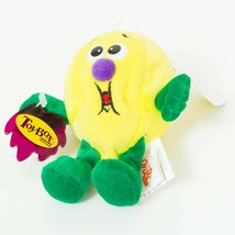 "Fruit Seedies Luis Lemon Plush 5"" Tag Yellow Green ToyBox Stuffed Animal... - $11.77"