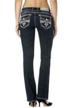 Rock Revival Women's Premium Boot Cut Denim Jeans Bali B6 image 2