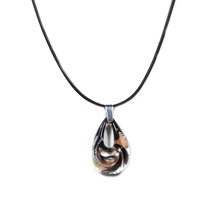 Authentic GINEVA Murano Glass Piccolo Raindrop Pendant - $49.95