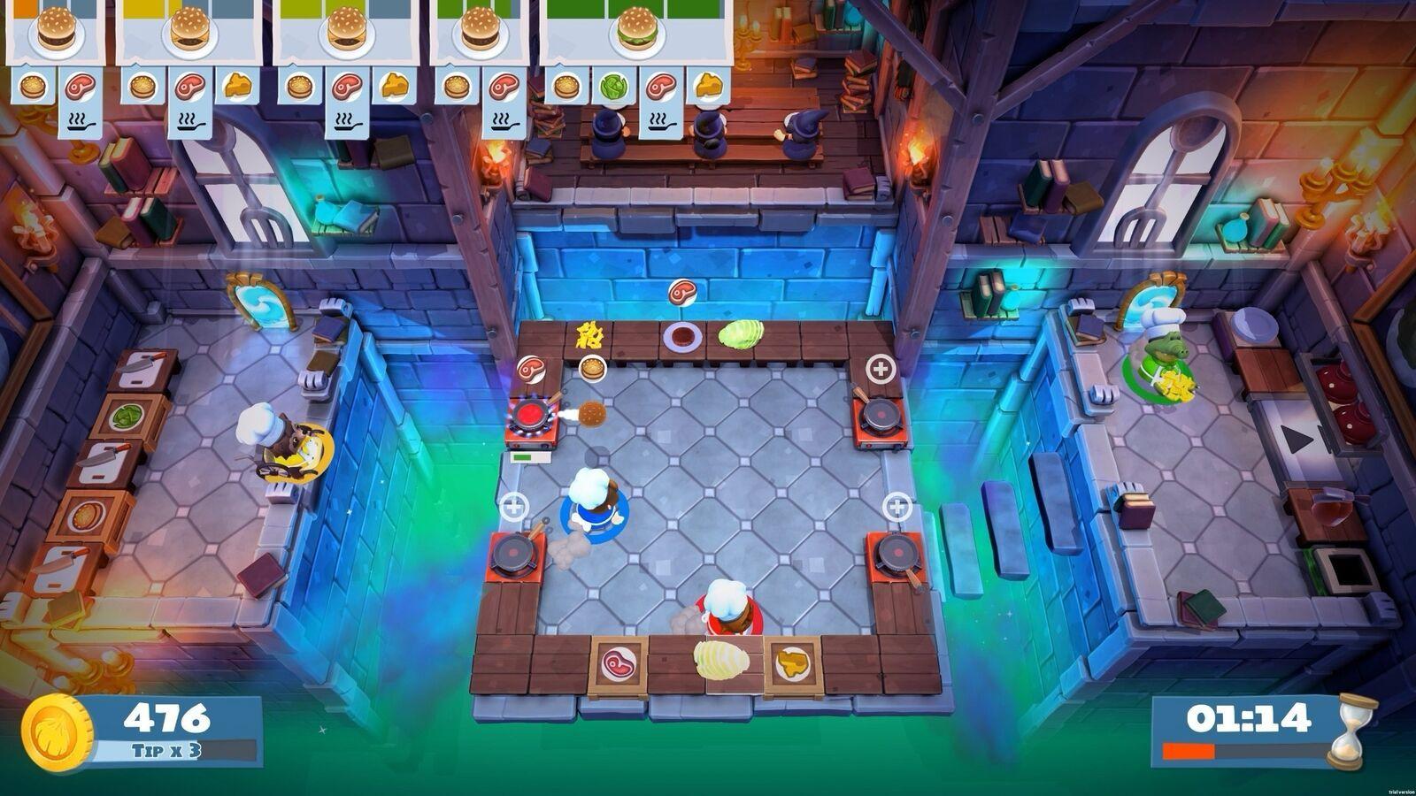 Overcooked! 2  Nintendo Switch NEW! image 7