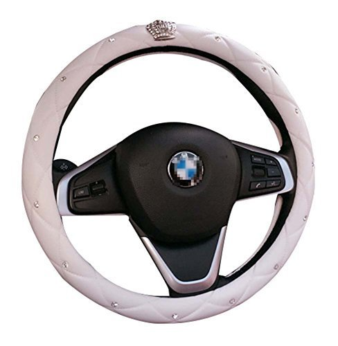 Car Supplies Cute Car Steering Wheel Sets Handlebars Sets Crown Non - slip