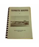 Favorite Recipes of Macon Industries Employees Cookbook Ring Binder 1982 TN - $15.88