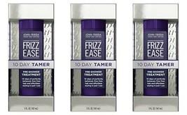 3 Pack John Frieda Frizz Ease 10-Day Hair Tamer Pre-Shower Treatment, 5 ... - $29.46