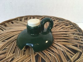 Vintage Metlox Provincial Rooster Lid For Covered Honey Jug Sugar Jar Lid Only - $16.00