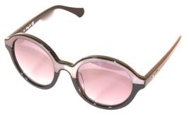 Kenneth Cole New York Sunglass Soft Round Black, Smoke Lens KC7105 20B - $22.49