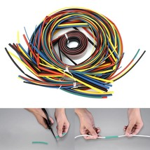 55m Heat Shrinkable Cable Assorted Tubing Wrap Electrical Connection Wire Sleeve - $13.52