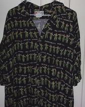 Hilo Hattie Mens XL The Hawaiian Original Button Front Short Sleeve Shir... - $13.46