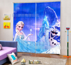3D Ice Queen288 Blockout Photo Curtain Printing Curtains Drapes Fabric W... - $145.49+