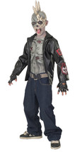 Punk Zombie Child Boy's Costume - Large 12-14 - $34.27