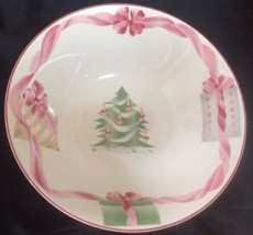 "Sango HOME FOR CHRISTMAS (Indonesia) 9"" Round Serving Bowl - 3 available - $5.95"