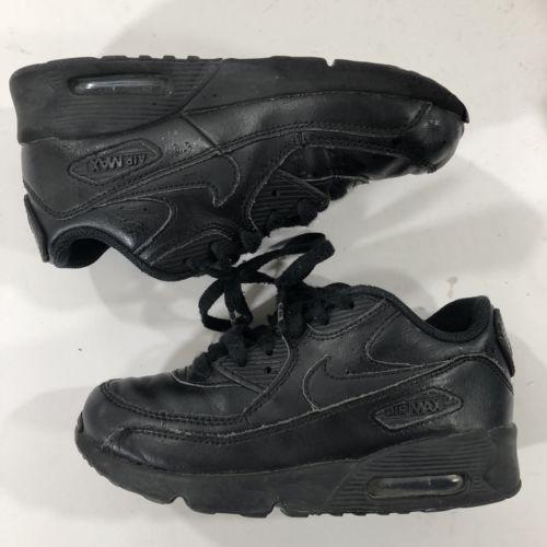promo code 70231 cc02c (2) Nike Air Max 90 PS Pre School Kids Shoes White Black Lot Set