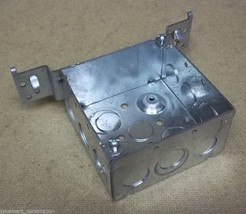 Outlet Box 4in Square with Bracket 2 1/4in Deep - $9.05