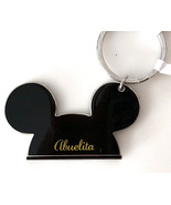 Walt Disney World Mickey Mouse Ears Abuelita Metal Keychain NEW Spanish Grandma - €15,59 EUR