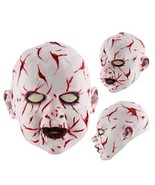 Halloween Festival Party Latex Mask Head Masquerade Horror Costume Cover... - $19.76